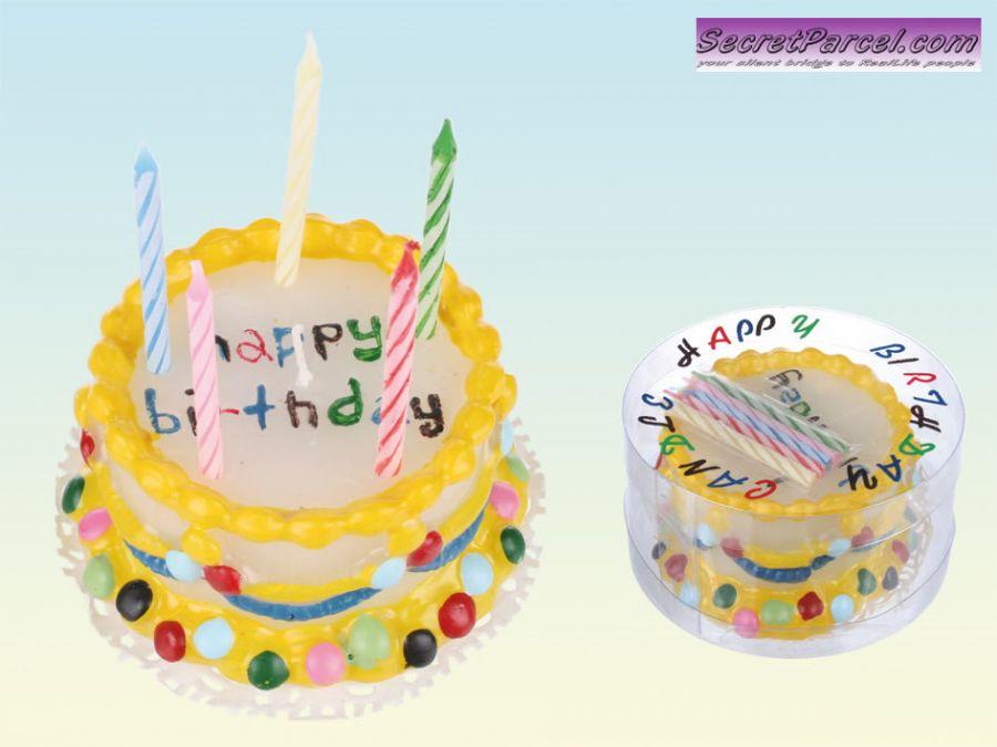 Как ставить свечки в торт